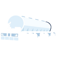 Allquip product icon: bulk semi-trailer tanker