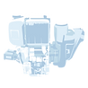 Allquip parts icon: water pump