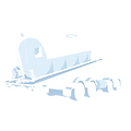 Allquip product icon: hooklift truck water tank