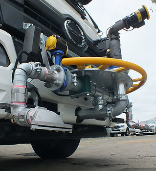 Case study: front sprays and water cannon for Ryde City Council
