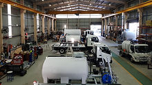 Allquip Water Trucks warehouse