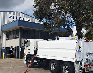 NSW head office of Allquip Water Trucks