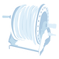 Allquip parts icon: hose and hose reels