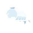 Allquip product icon: standard size water truck