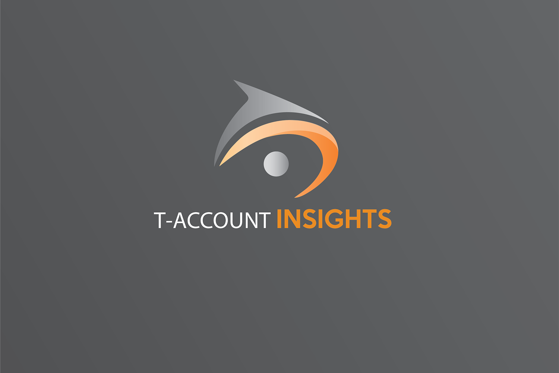 T-ACOUNT INSIGHT logo design