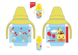 Milk bottle design-Giraffes
