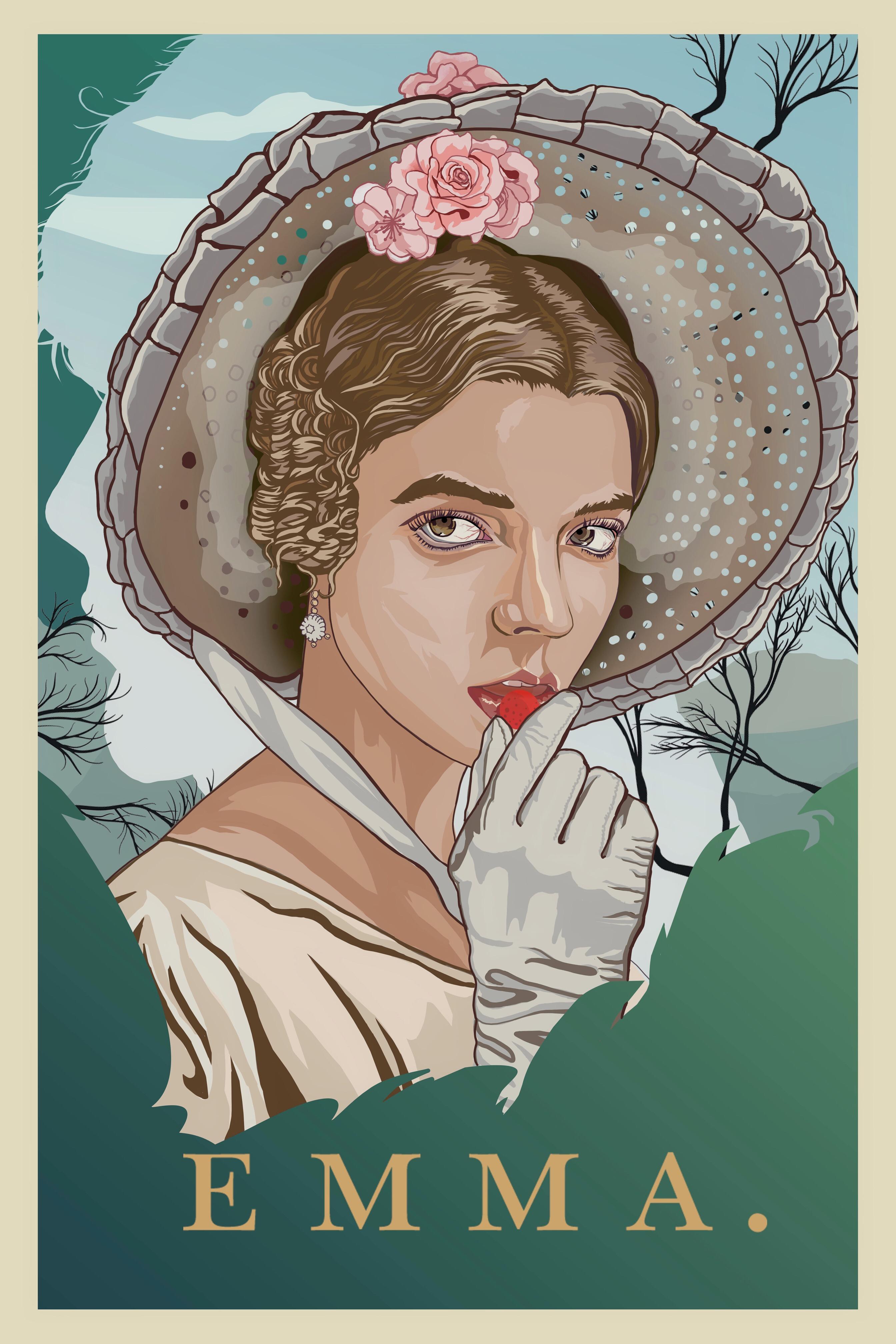 Emma (poster design)