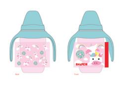 Milk bottle design-Unicorn