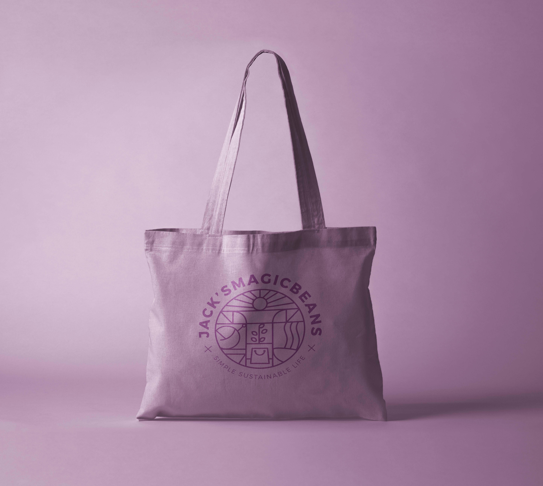 Branding design-tote bag