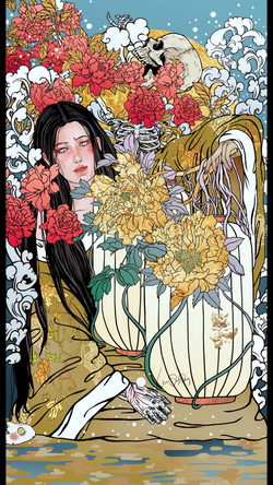 Peony of Lantern (A Ghost story of the M