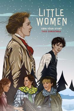 A poster design for Little Women