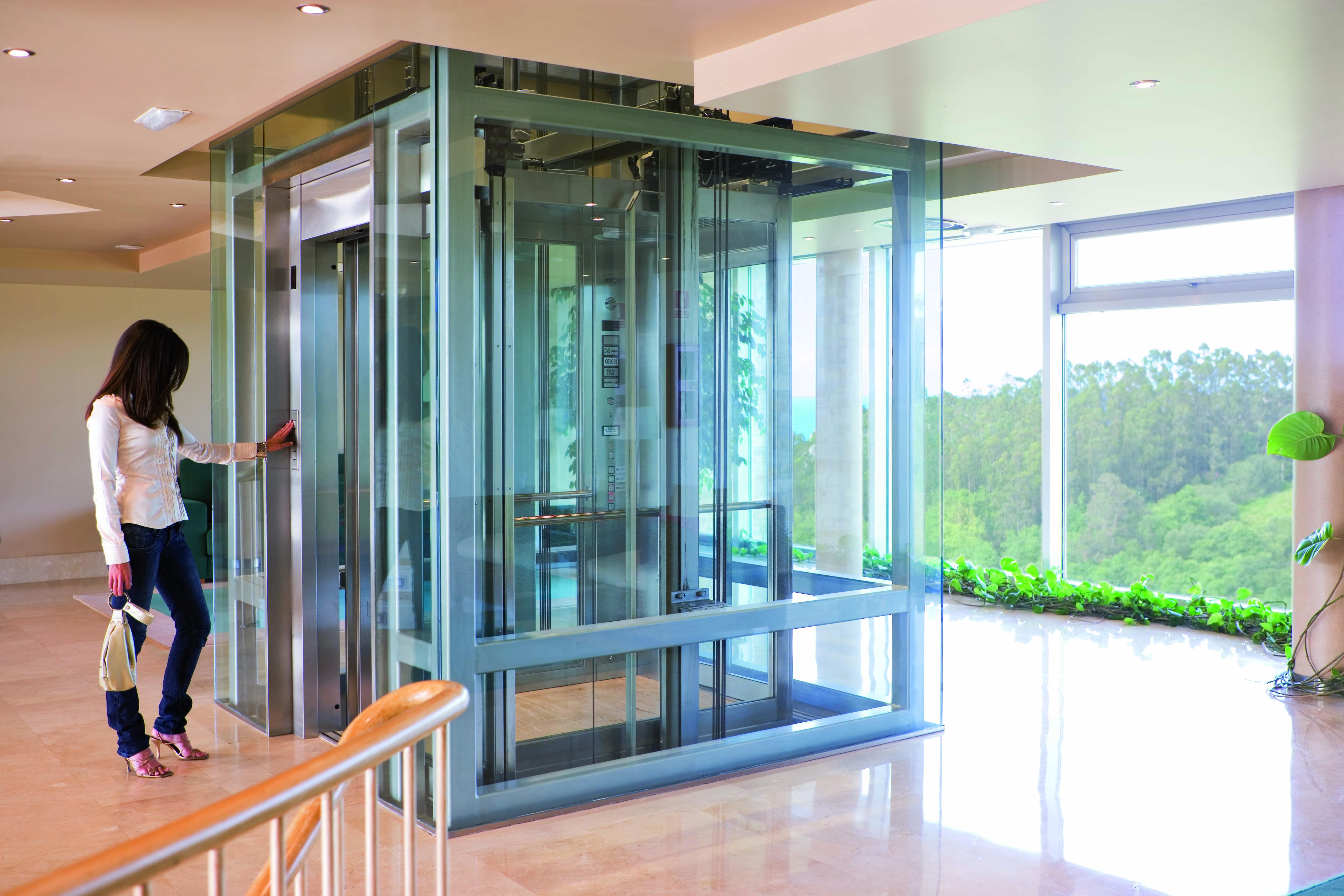 Glass-Lift-MRL-Silens