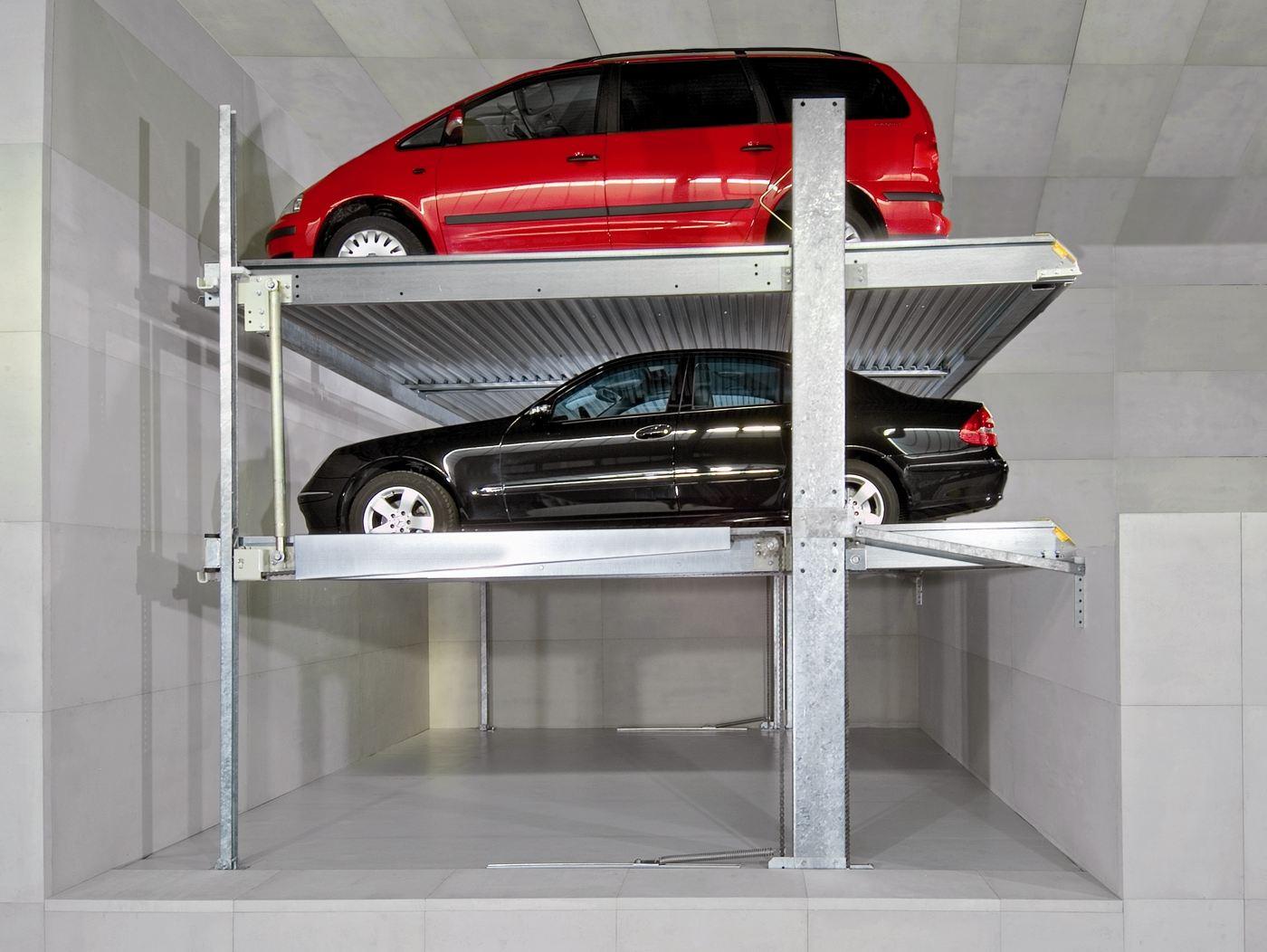 Μηχανικές θέσεις στάθμευσης οχωμάτων PARKLIFT (1)