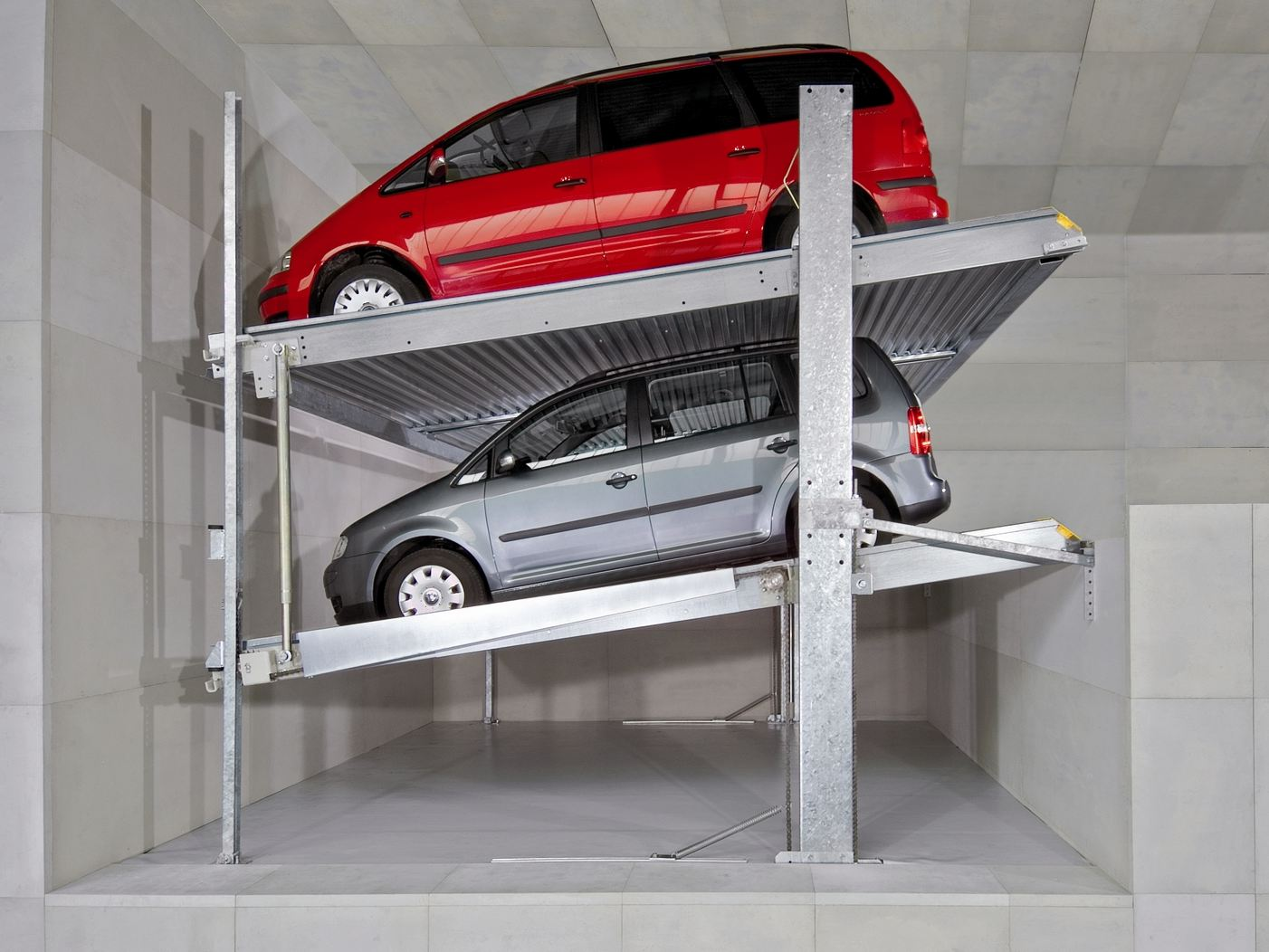 Μηχανικές θέσεις στάθμευσης οχωμάτων PARKLIFT (2)