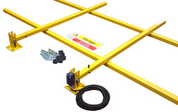 One Side Collapsible Car Top Barrier