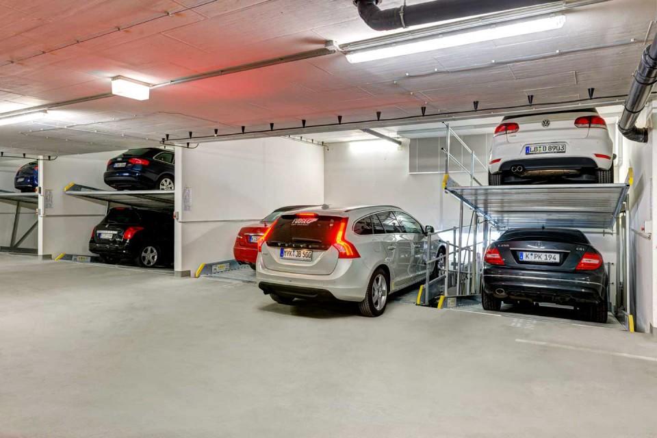 Μηχανικές θέσεις στάθμευσης οχωμάτων PARKLIFT (4)