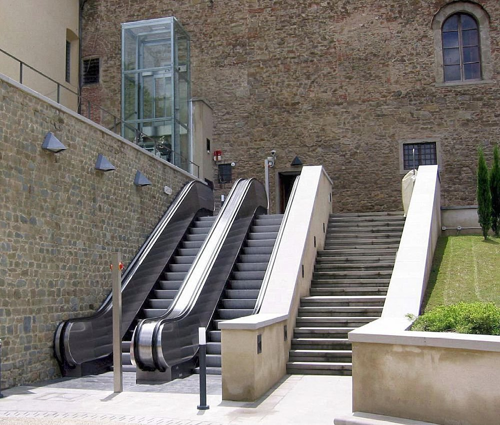 Κυλιόμενες σκάλες και κυλιόμενοι