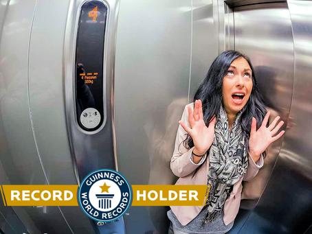 Guinness World Record: Εγκλωβίστηκε στο ασανσέρ για 6 μέρες!