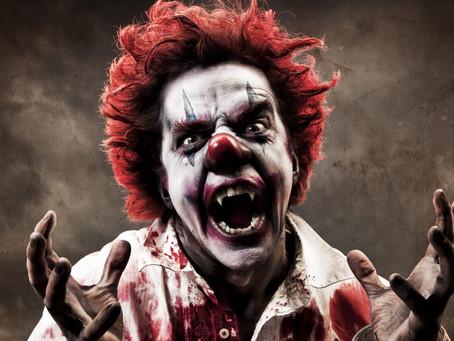 Δείτε το video με μια παρατραβηγμένη φάρσα clown σε κυλιόμενες σκάλες
