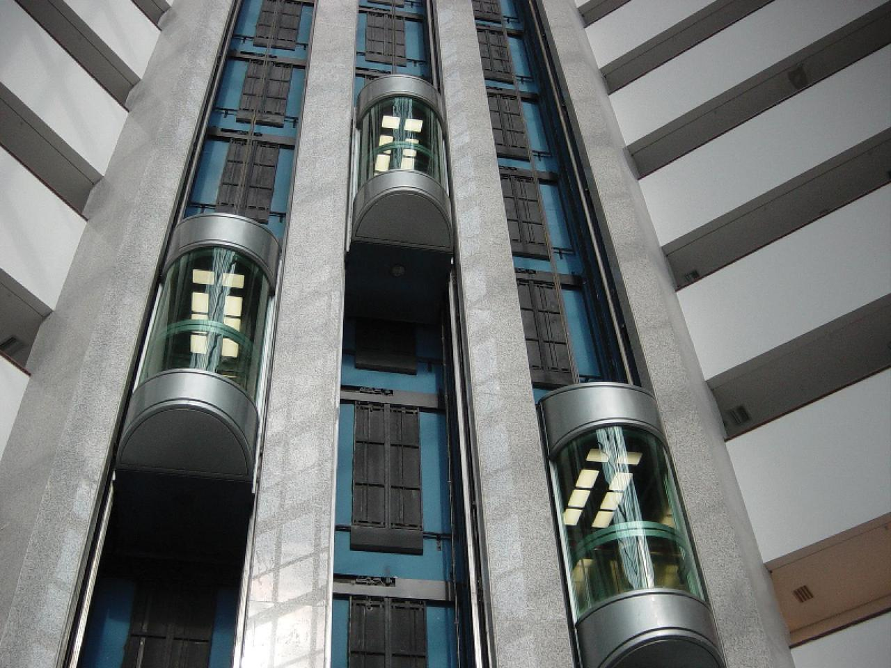 panoramic glass elevators