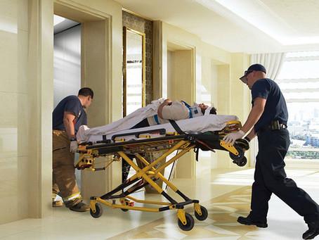 Ατύχημα σε ασανσέρ του ΑΧΕΠΑ με τραυματίες / Έσπασε συρματόσχοινο