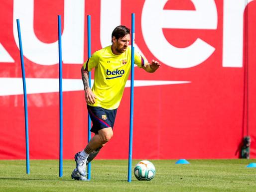 برشلونة يعود للتدريبات