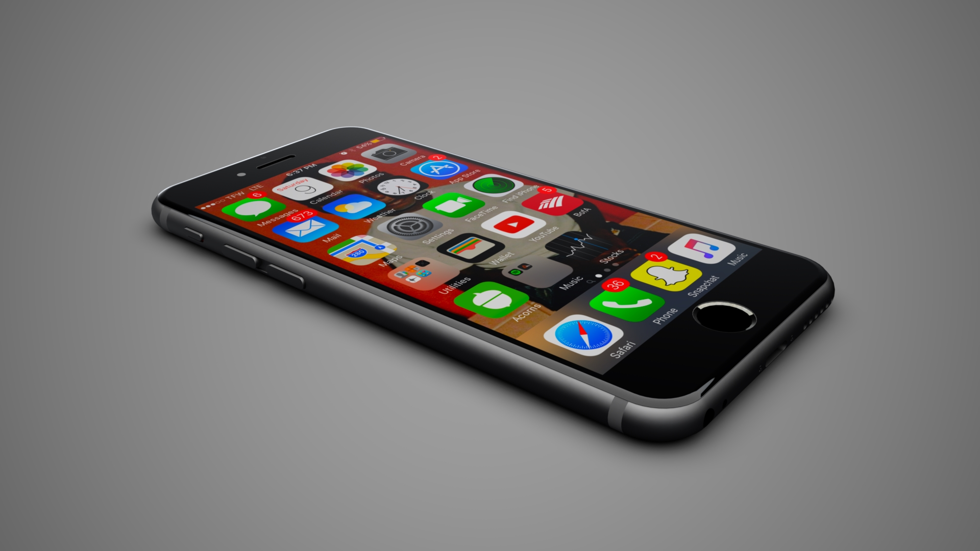 iPhone | Photo-Realistic Rendering