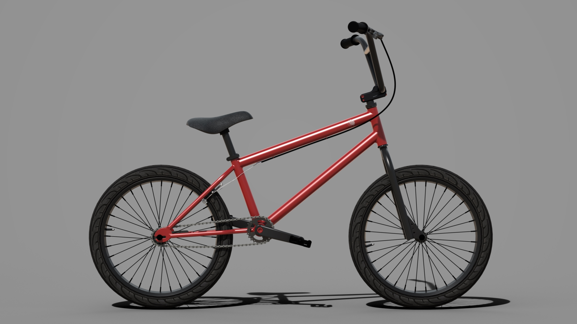 Red Bike | Photo-Realistic Rendering