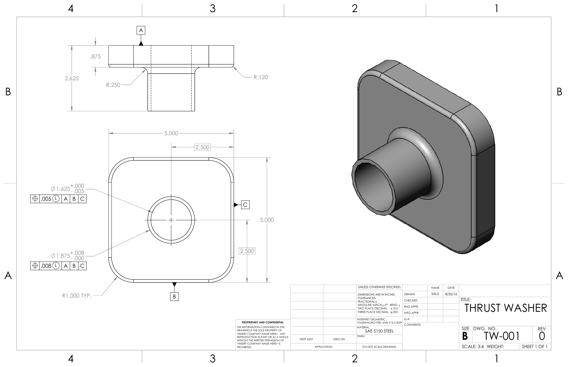 SolidWorks Tutoring | 2D Drawings