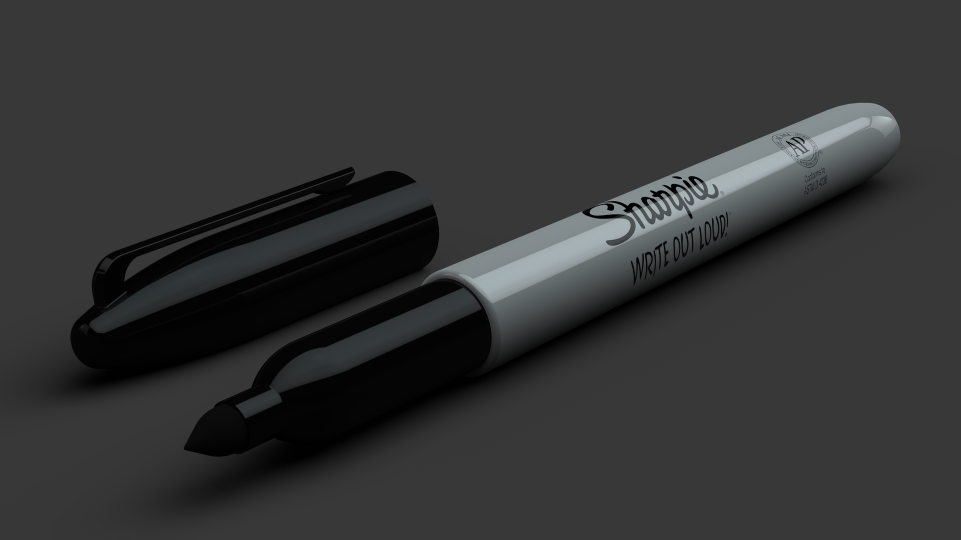 Sharpie | Photo-Realistic Rendering