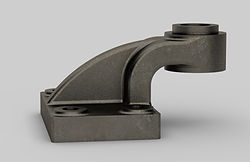 3D SolidWorks CAD model