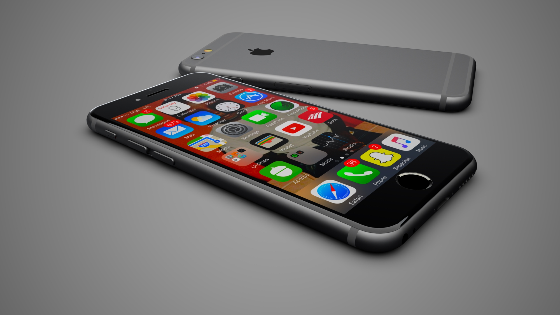 iPhones | Photo-Realistic Rendering