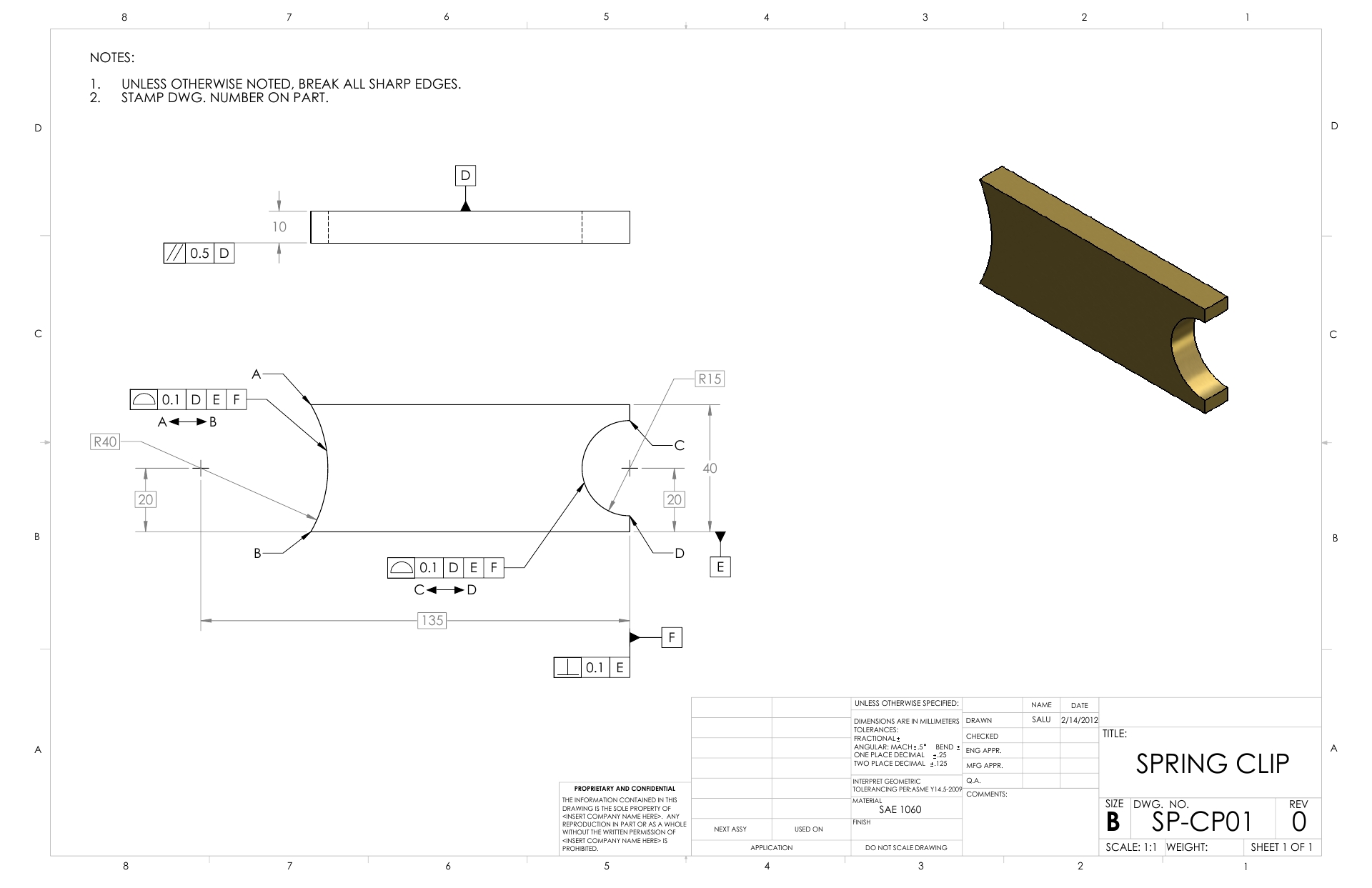 Learn SolidWorks | 2D Drawings