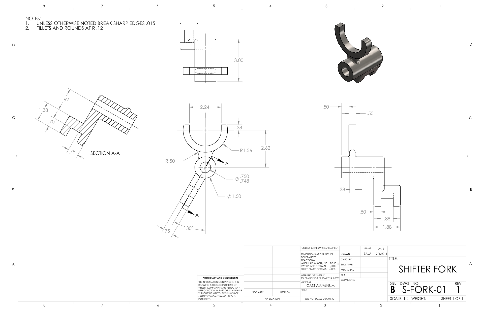 Learn 2D CAD Drawing