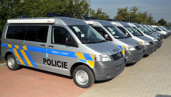 Vozidlové pracoviště Policie ČR