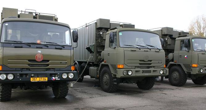 Velitelsko-štábní vozidlo 4 generace – VŠV4p – T815