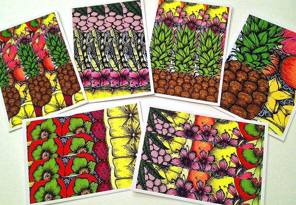 Set #5- Hawaiian - 6 cards