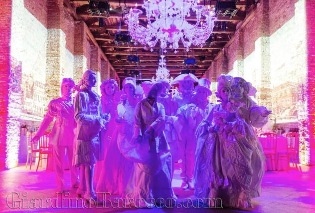 Giardino Barocco - venice gig colour 201