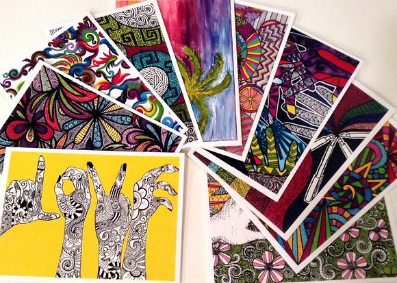 Set #11-Designs #1-10 (10 Cards)