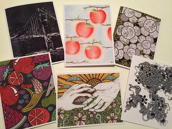 Set #9 - 6 cards