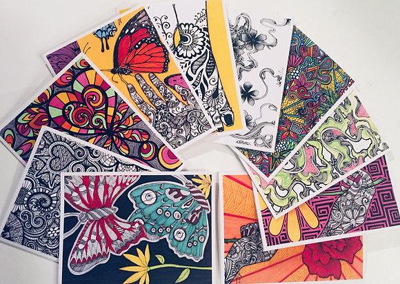 Set #13-Designs #21-30 (10 Cards)