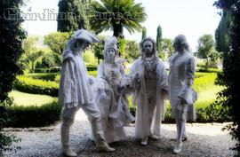 Giardino Barocco quartet of characters
