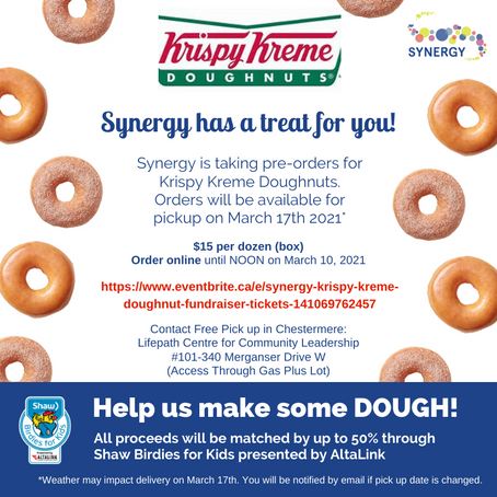Get your KRISPY KREME Doughnuts TODAY!