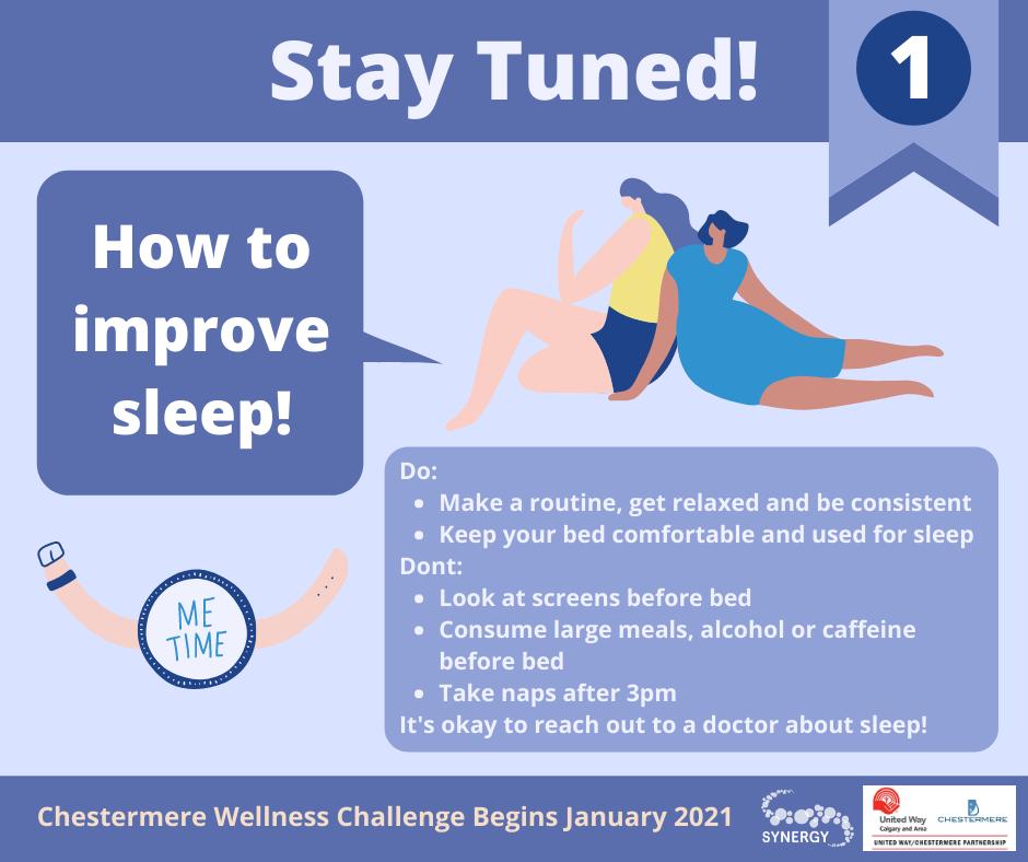 Sleep - How do I improve my sleep?