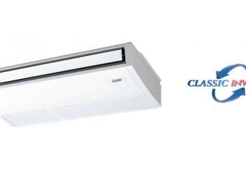 Unidade de Tecto – Série PCSZ-RP Classic Inverter