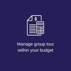 Manage group tour within your budget