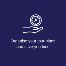 Organise your tour plans & save you time