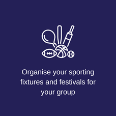 Organise your sporting fixtures & festiv