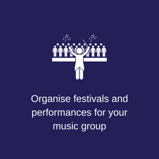 Organise festivals & performances for yo