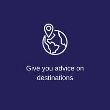 Give you advice on destinations